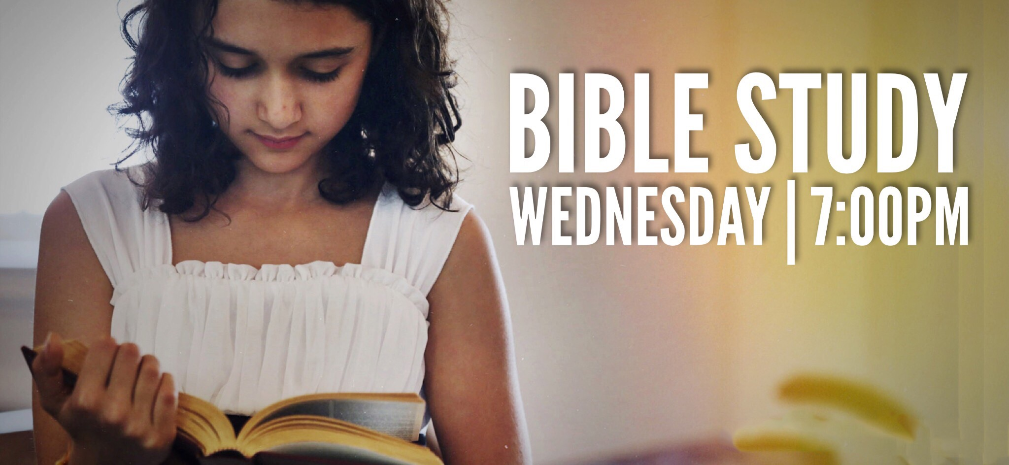 Bible Study On Wednesdays