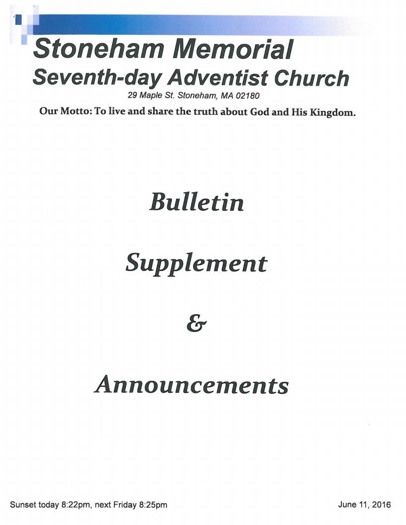 Bulletin 6.11.16 Coverjpg Page1