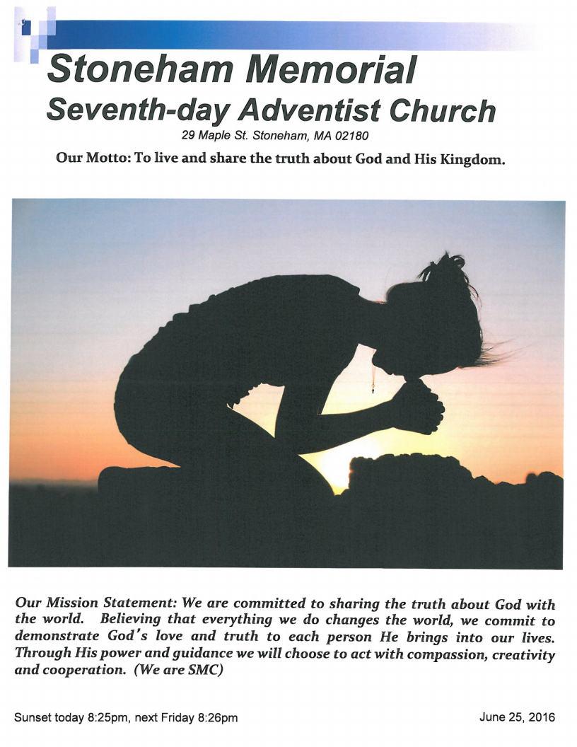 Bulletin 6.25.16 COVER