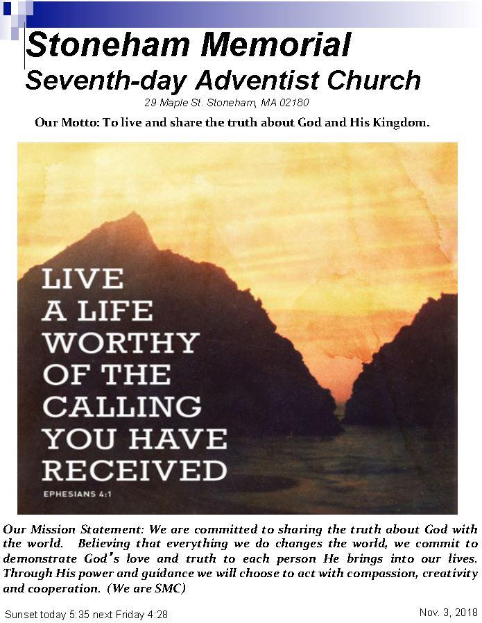Cover Bulletin 11.3.18