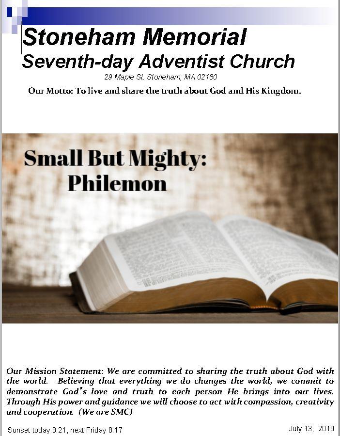 Cover Bulletin 7.13.19