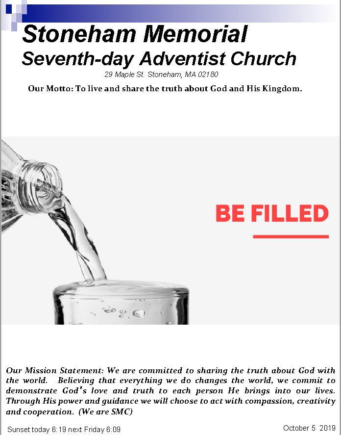 Cover Bulletin 10.5.19