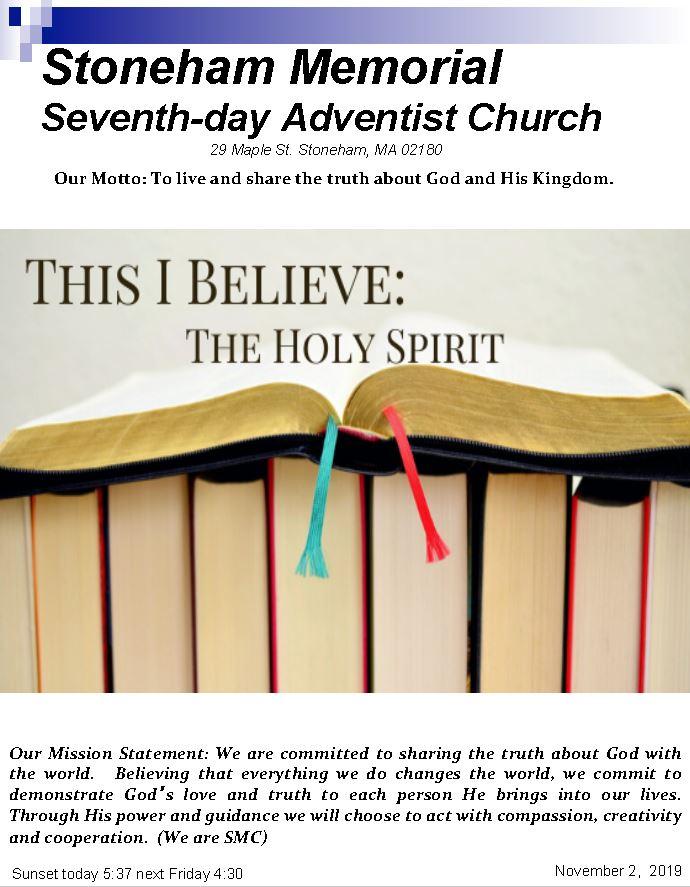 Cover Bulletin 11.2.19