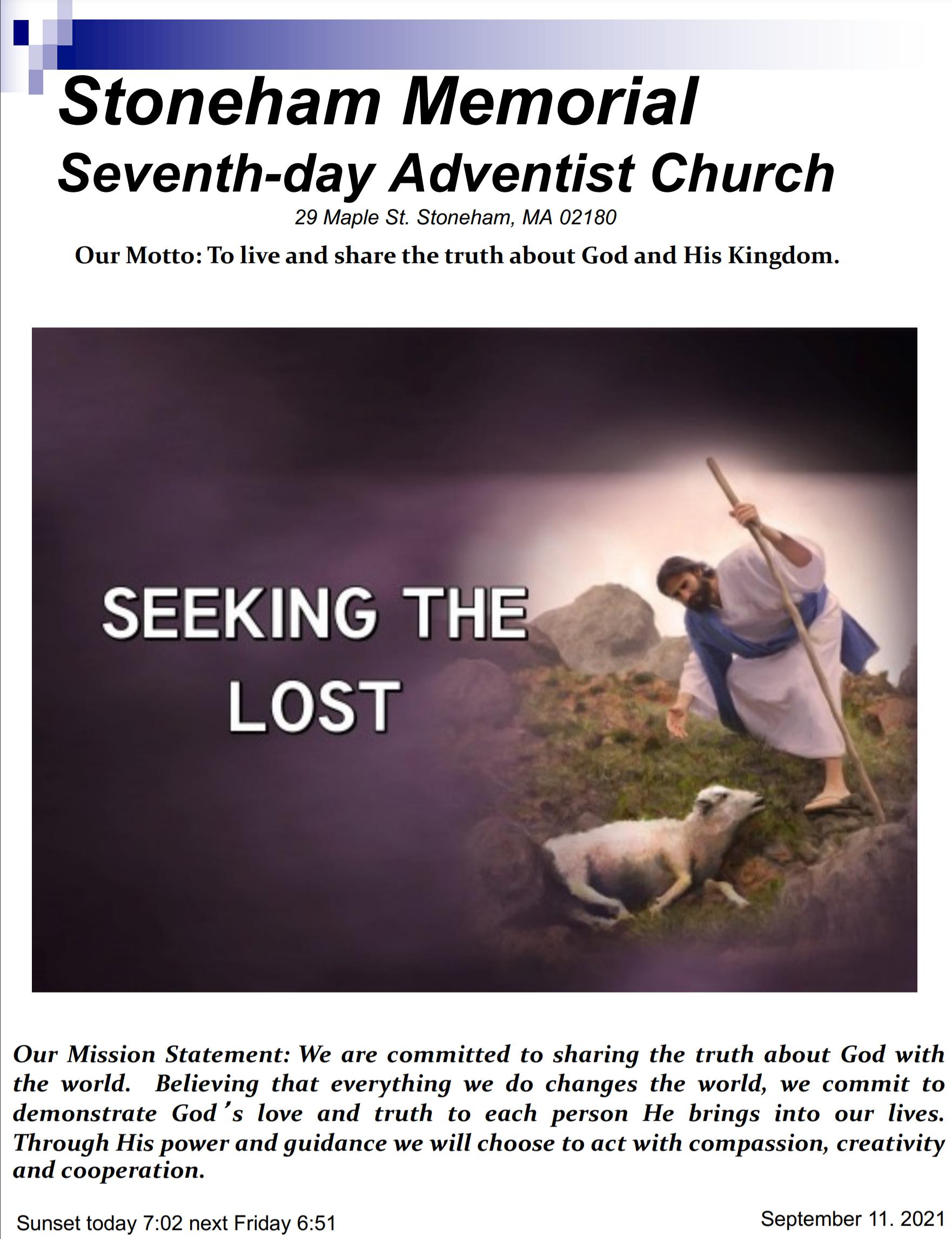 Cover Bulletin 9.11.21